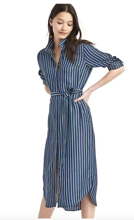 gap shirt dress